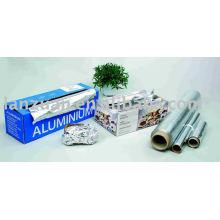 Aluminium Aluminium jetable envelopper le rouleau de papier d'aluminium
