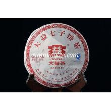 """2009 Menghai Dayi """"Pu Zhi Wei"""" Tarte Pu Er Ripe (901) thé puer Thé Pu'er Thé Pu-erh 357g / gâteau"""