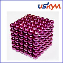 Revêtement Rose 216 Buckyballs Magnetic Balls Toy (T-016)