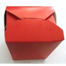 Caixa de Noodle / Takeaway Caixa Take Away Food Box Recipiente para Alimentos