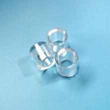 Lente de safira cilíndrica personalizada de alta qualidade para laser