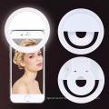 Portable USB Charging Mobile Phone Selfie Ring Light