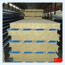 EPS / PU / Panel de sándwich de lana mineral para pared o techo
