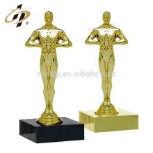 Фабрики промотирования изготовленный на заказ дешевое золото Оскар металл спорт трофей кубок с нет moq