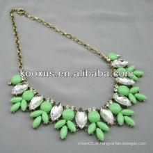 Moda colar colar de jóias por atacado pequena ordem aceita