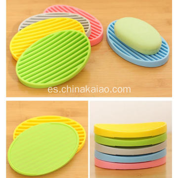 Home Hotel Restaurant Silicone Holder Rack For Soap