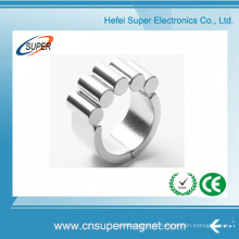 ISO9001 a certifié l'aimant fort d'anneau de néodyme