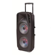 Doble altavoz de 10''inch Super Power con micrófono de luz LED F73D