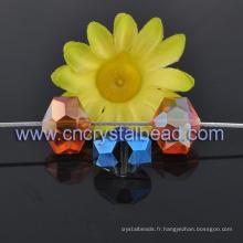Nouveau Design Hexagonal en cristal perle pour lustre Drop