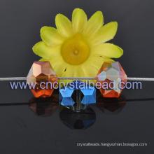 New Design Hexagonal Crystal Glass Bead For Chandelier Drop
