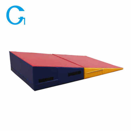 Cheese Sponge Folding Incline Gym Tumbling Mat
