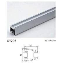 Aluminium-Schrank-Profil in eloxiertem Silber