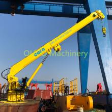 Marine Crane with Telescopic Boom for Ship