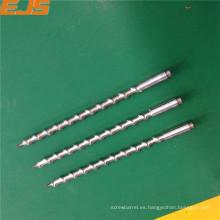 barril mini solo tornillo para extrusoras de plástico PVC PP PE ABD