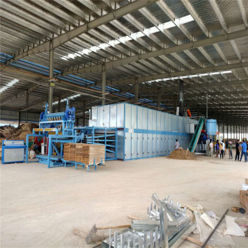 4 Deck Veneer Roller Drying Lines