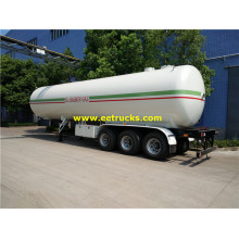 55000 Liters ASME LPG Gas Tank مقطورات
