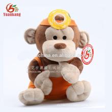 Custom plush monkey toys no minimum