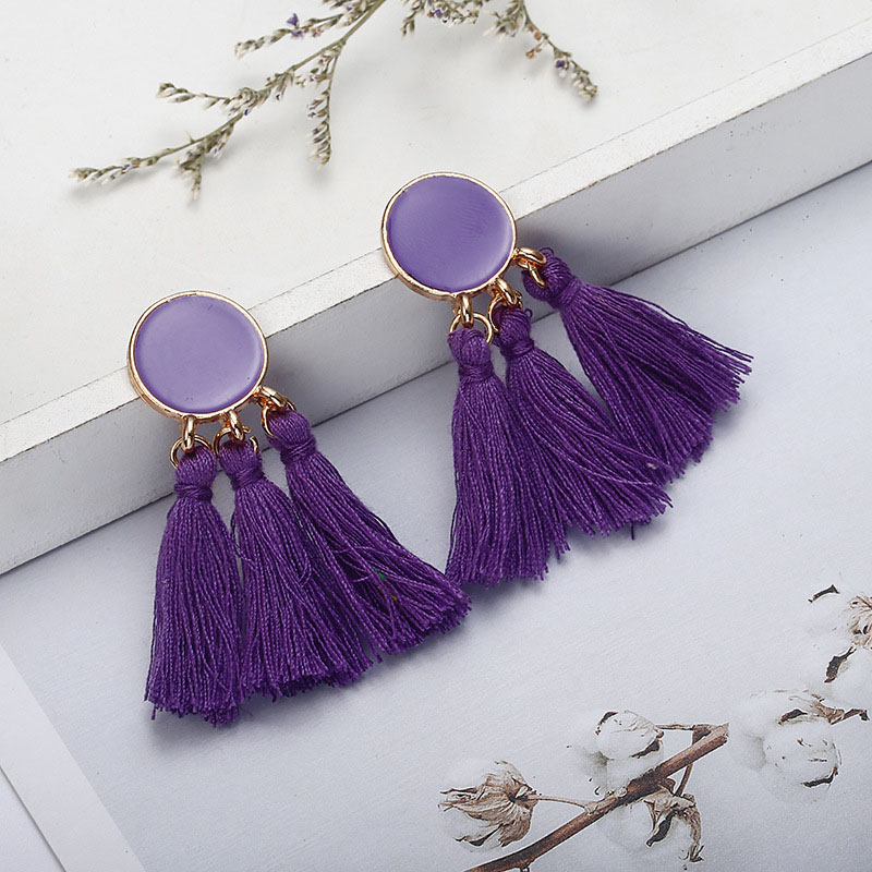 Womens Tassel Earrings