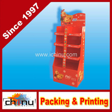 New Year Promotion Paper Corrugated Board Pallet Display (6217)