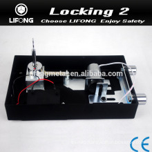 Cylinder locks for safe locker with motor
