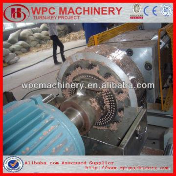 Máquina de granulação WPC / linha de produção de grânulos WPC / linha de pelotização de plástico de madeira wpc