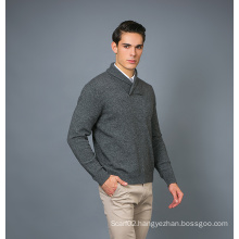 Men′ S Fashion Cashmere Blend Sweater 17brpv080