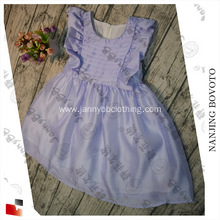JannyBB new design purple princess girls dress