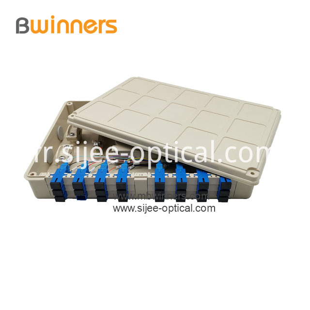 Fiber Optic Terminal Box 24 Ports