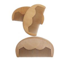 FQ marca Amazon homens venda quente bolso madeira barba pente