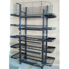 Five Layers Wire Display Rack / Store Display for Exhibition (MD-09)