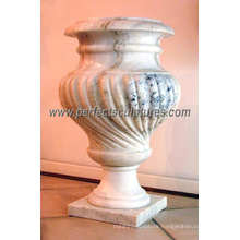 Garden Stone Marble Flower Vase (QFP009)