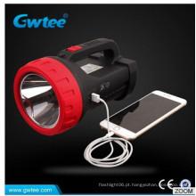 10W USB levou multifuncionais refletores de alta qualidade super brilhante camping luzes searchlights emergência
