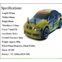1 / 16th Scale on Road Drifting Car com controle remoto