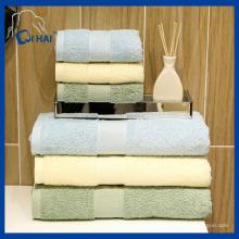 Serviette de bain en coton en coton en coton en fibre de verre (QHDS00912)