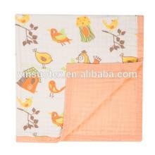DER UMSATZ! Heiße Verkaufsbaumwolle Muslin-Swaddle-Decke, Baby-Decke