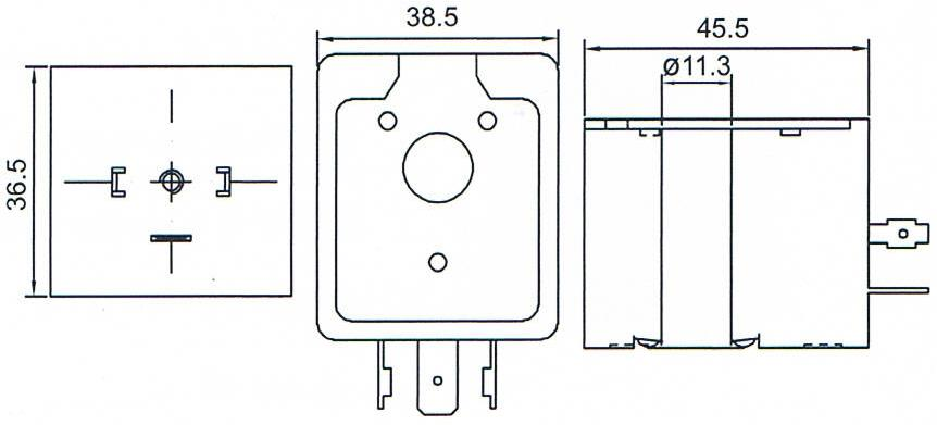 Dimension of BB11036001 Solenoid Coil: