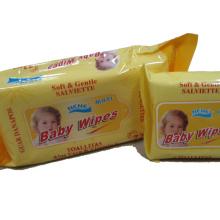 Línea de producción para bebés Push Clean Toallitas húmedas