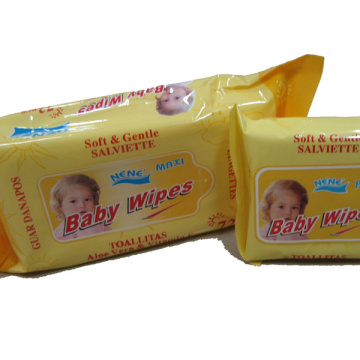 Baby-Produktionslinie Push Clean Wet Wipes