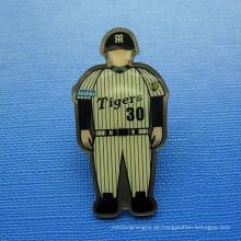 Offset bedruckter Revers Pin, Human Image Badge (GZHY-OP-015)