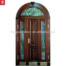 Price Solid Wood Main Door With Glass