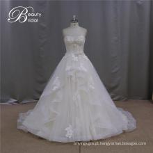 Nome Marca A-Line Bridal Dress Beading Motif