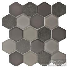 ideas de azulejos de mosaico de piso de baño