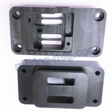 Customized Machining Service Brush Housing for Black POM Delrin Plastic Parts