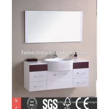 Hot sell Europe design bathroom mirror cabinet with light