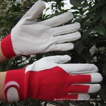 Gants de jardin Gants en cuir Gants de jardinage pour dames Gant de travail