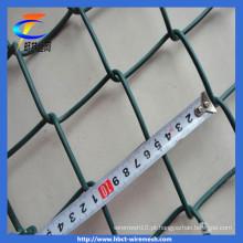 Malha de arame de diamante revestido de PVC