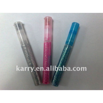 12color -10.5ml ensemble de stylo de colle de paillettes fantaisie (avec la puissance de paillettes)