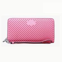 Pink Wallet Case PU Leather Fashion Custom Brand Available Women′s Handbag Wzx1064