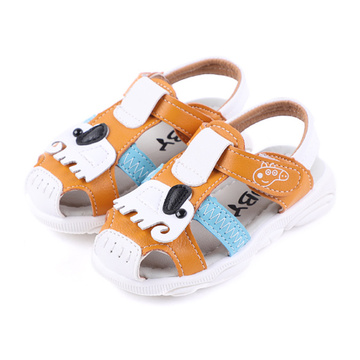 Toddler Boy Girl Summer Outdoor Sandals en cuir