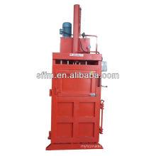 Hydraulic PET plastic baling press